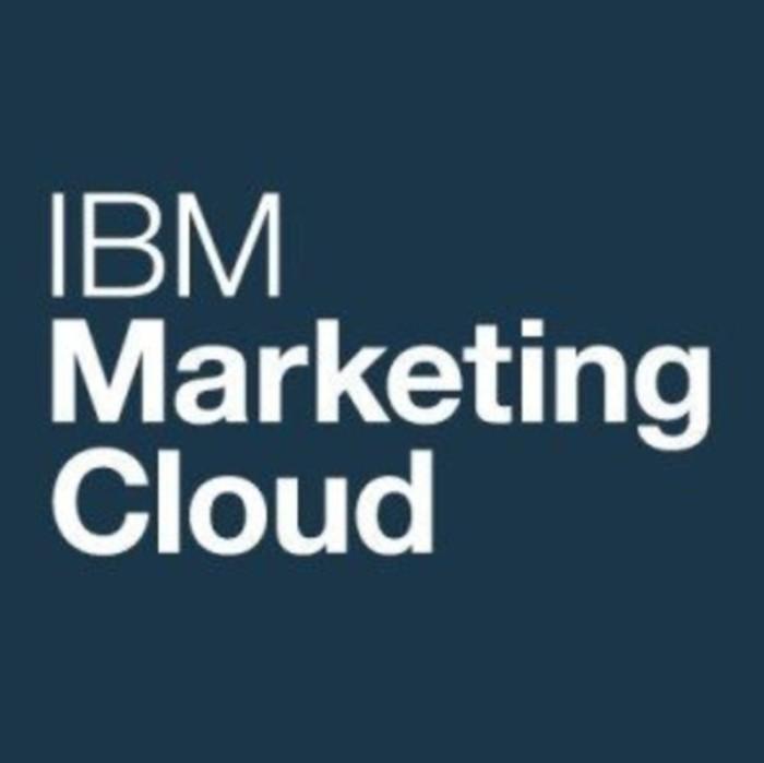 IBM Marketing Cloud(アイビーエムマーケティングクラウド)